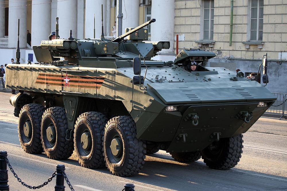 В России анонсировали испытания боевой машины К-16 на платформе «Бумеранг»