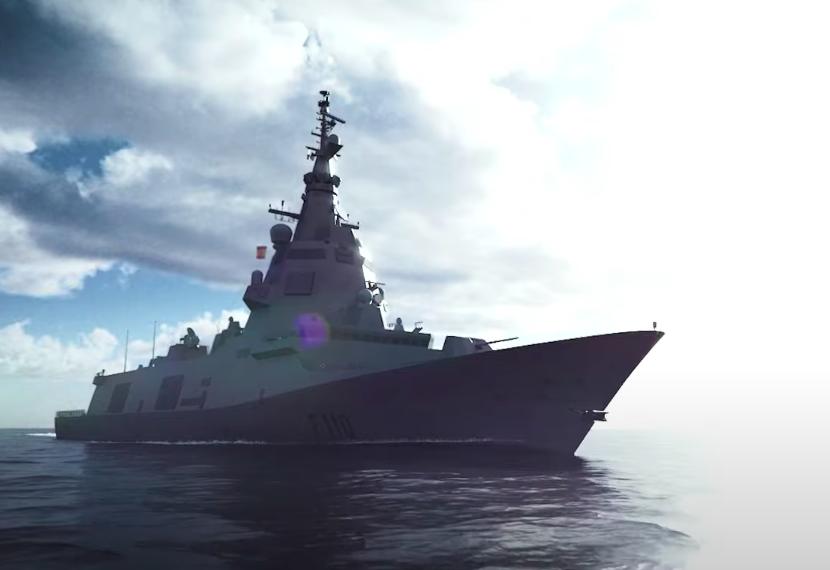 Европа показала на видео боевой корабль нового поколения