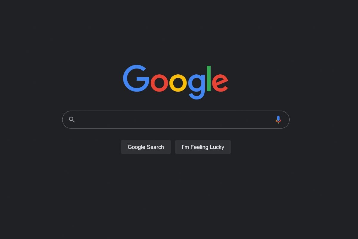 Google Поиск для ПК получил ночной режим