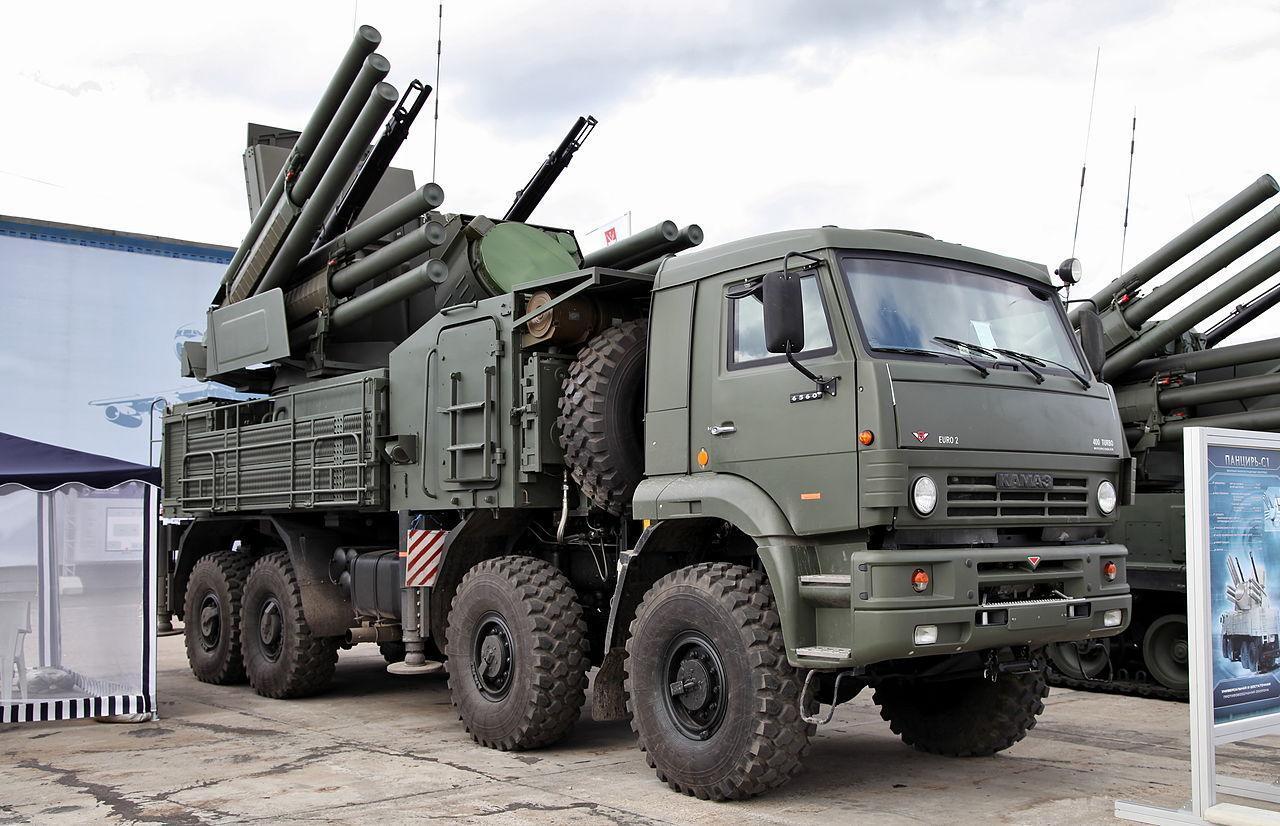20 турецких беспилотников атаковали российский «Панцирь»