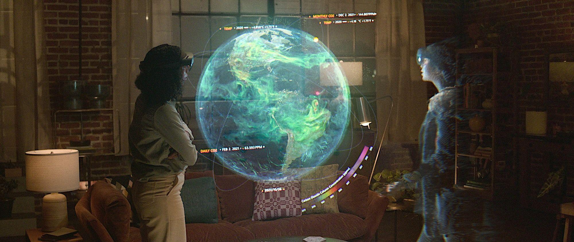 Microsoft научилась рисовать собеседников в реальном мире на онлайн-собраниях