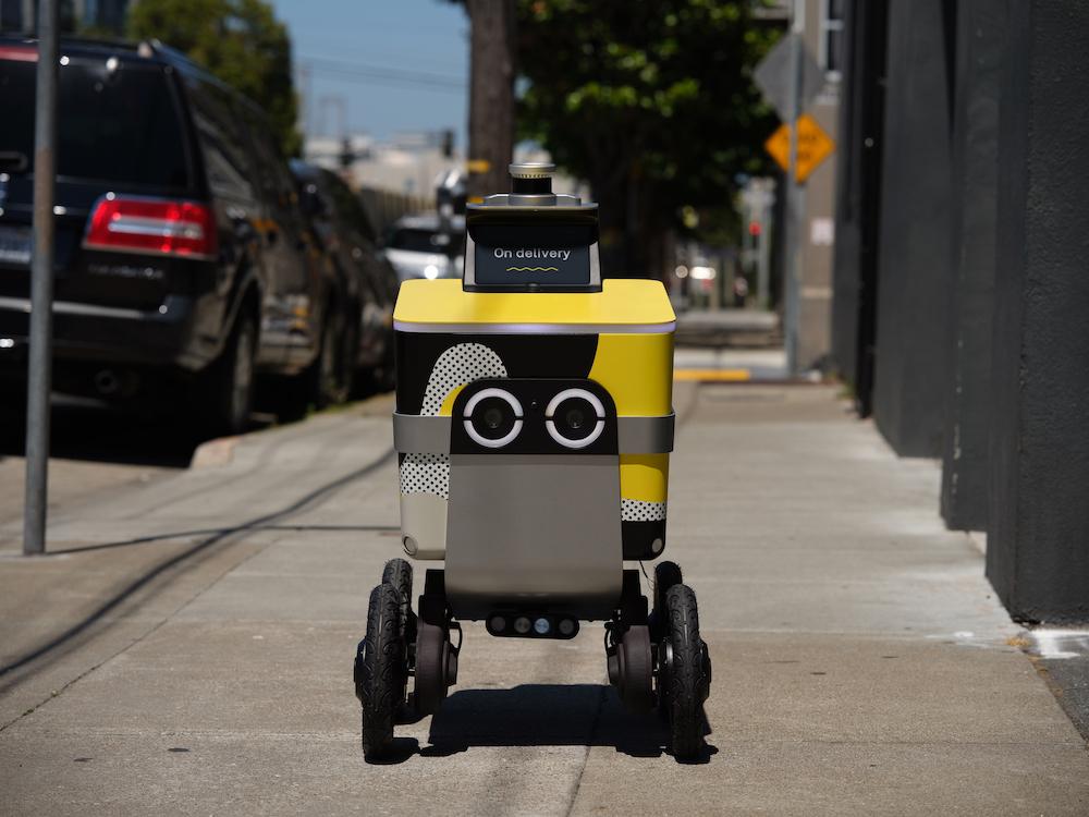 Uber создала новую компанию для производства роботов-курьеров