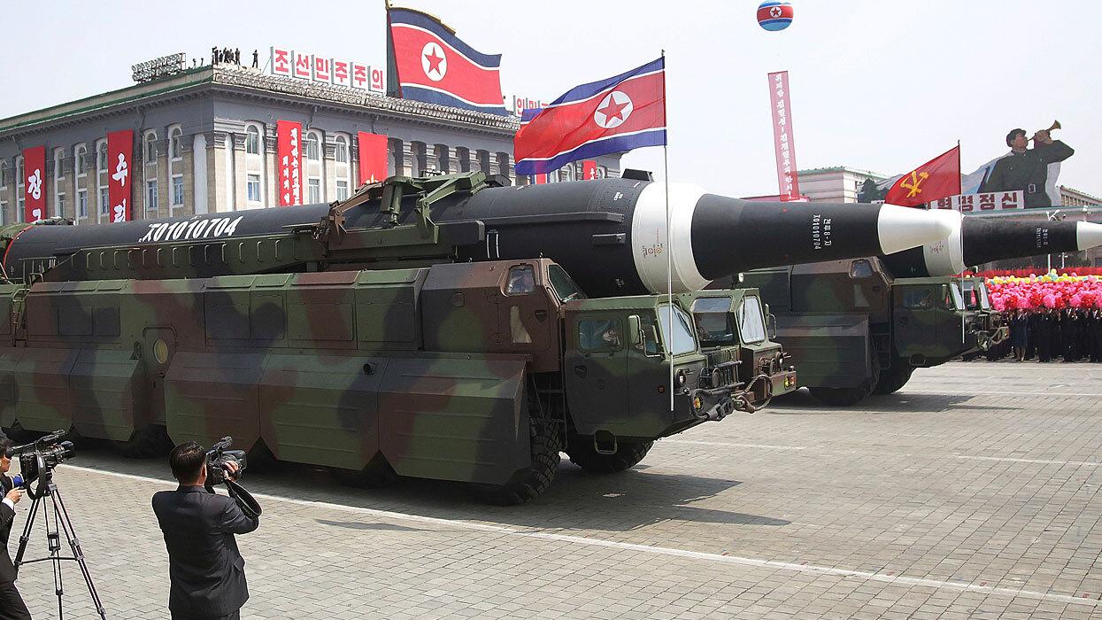Северная Корея тайно протестировала крылатые ракеты