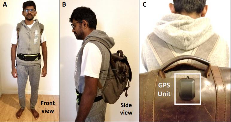 Разработан 'умный' рюкзак для слабовидящих людей