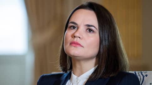 Белорусская оппозиция разглядела железный занавес // Светлана Тихановская обвинила Александра Лукашенко в желании «спрятать преступления»
