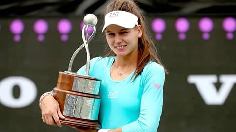 Вероника Кудерметова поймала ритм Чарльстона // Теннисистка выиграла свой первый титул WTA
