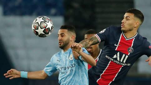 «Манчестер Сити» подбирается к финалу // Он одолел ПСЖ в первой встрече полуфинала Лиги чемпионов