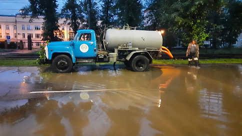 Улан-Удэ еле откачали // Сильный ливень повредил городскую инфраструктуру