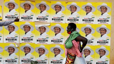 Президент-долгожитель против «президента гетто» // Правящему Угандой 34 года Йовери Мусевени противостоит на выборах исполнитель регги