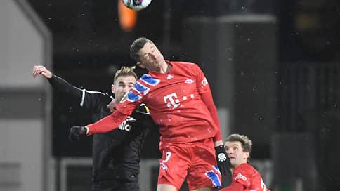 Роберт Левандовский напоролся на Киль // «Бавария» уступила в Кубке Германии «Хольштайну» из второй бундеслиги