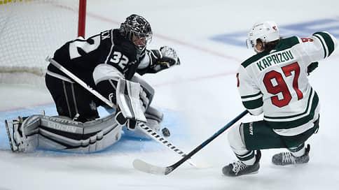 НХЛ увидела возможности российского новичка // В первом матче за «Миннесоту» Кирилл Капризов набрал три очка