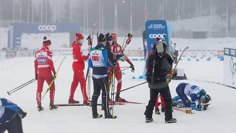 Финишем Александра Большунова заинтересовалась полиция // На лидера российской сборной подали два заявления из-за столкновения с финским гонщиком
