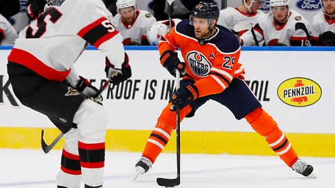 Леон Драйзайтль включил шестую передачу // Форвард «Эдмонтона» чуть-чуть не дотянул до рекорда НХЛ