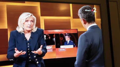 Французские правые поспорили, кто прав // Как прошли теледебаты Марин Ле Пен и Жеральда Дарманена