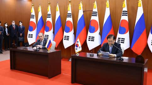Сергей Лавров побывал «за стеклом» // Переговоры главы МИД РФ в Южной Корее прошли в весьма необычной обстановке