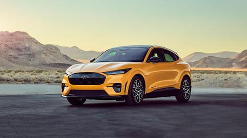 Электрокроссовер Ford Mustang Mach-E получил новую топовую версию