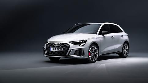 Новый Audi A3 Sportback стал гибридом