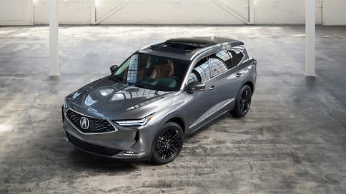 Acura показала серийный кроссовер MDX нового поколения
