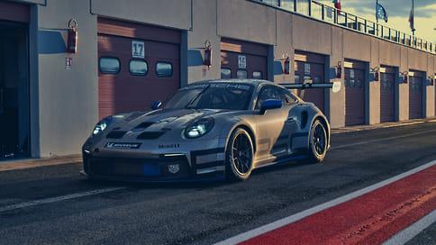 Porsche представил гоночное купе 911 GT3 Cup