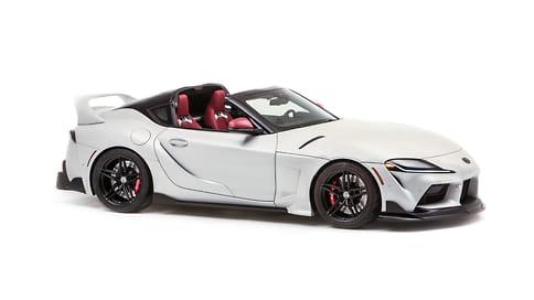 Новая Toyota Supra получила версию «тарга»