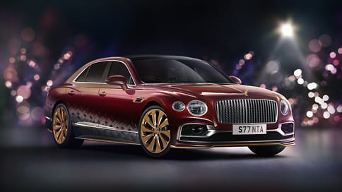 Bentley сделала особый Flying Spur для Санта-Клауса