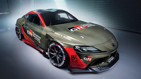 Toyota рассекретила 1015-сильную Supra для российского дрифта