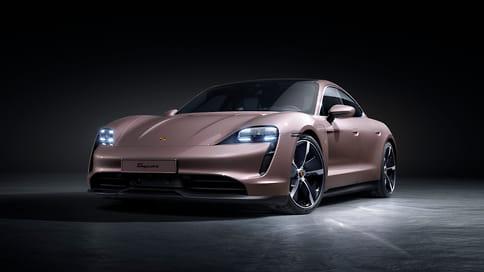 Porsche представил заднеприводный Taycan