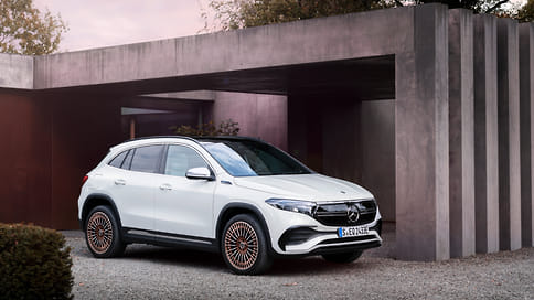 Mercedes-Benz показал серийный электромобиль EQA