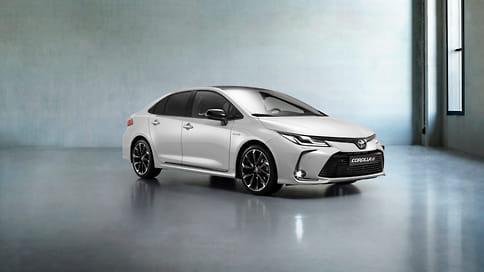 Toyota привезла в Россию Corolla и C-HR в версии GR Sport