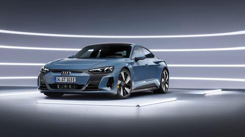 Audi показала серийный электромобиль e-tron GT