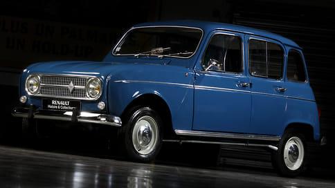 Renault 4 возродят в виде электромобиля