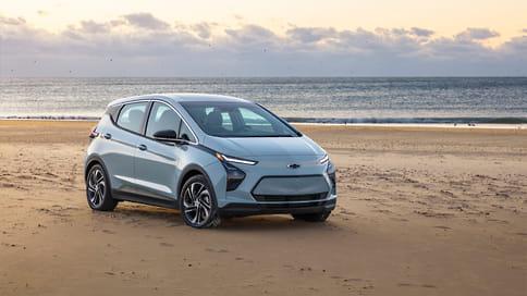 Chevrolet показал новое поколение электромобиля Bolt EV