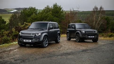 Land Rover представил 525-сильный Defender V8