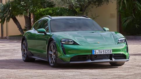 Porsche рассекретил электроуниверсал Taycan Cross Turismo