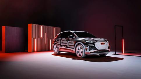 Audi раскрыла интерьер нового электрокроссовера Q4 e-tron