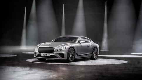 Bentley представила 659-сильное купе Continental GT Speed