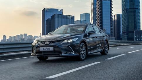 Обновленная Toyota Camry получила версию GR Sport