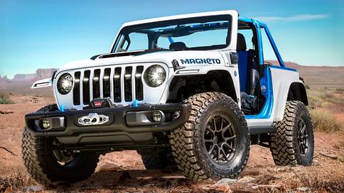 Jeep представил четыре концепт-кара для «Пасхального сафари»