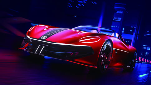 MG показала концептуальный спорткар Cyberster