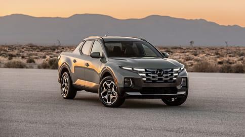 Hyundai презентовала серийный пикап Santa Cruz