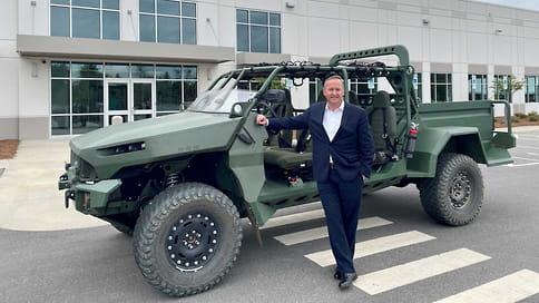 General Motors анонсировал электробагги для армии США