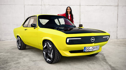 Opel превратил классическое купе Manta в электромобиль