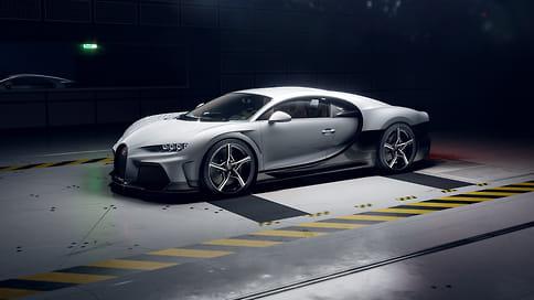 Bugatti показала новый гиперкар Chiron Super Sport