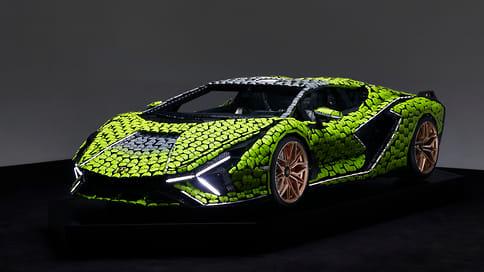 Lamborghini Sian FKP 37 получил полноразмерную версию из Lego