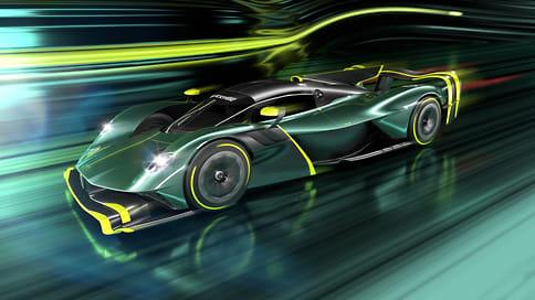 Aston Martin анонсировал трековый гиперкар Valkyrie AMR Pro
