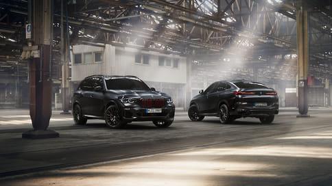 BMW представила X5 и Х6 в версии Edition Black Vermilion