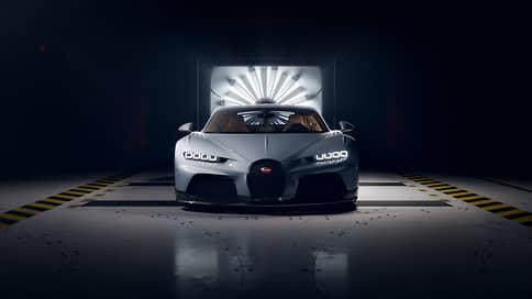 Быстрее, ниже, длиннее // Представлен новый Bugatti Chiron Super Sport
