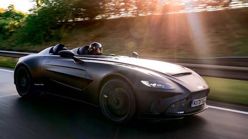 Время возможностей // Aston Martin V12 Speedster