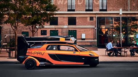 Улетное авто // PAL-V Liberty