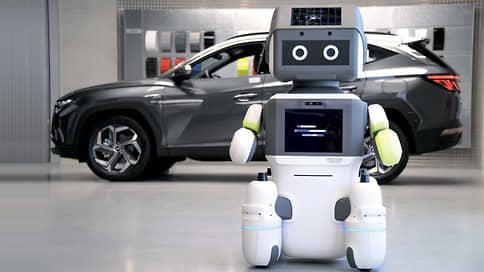 Вкалывают роботы // Hyundai DAL-e